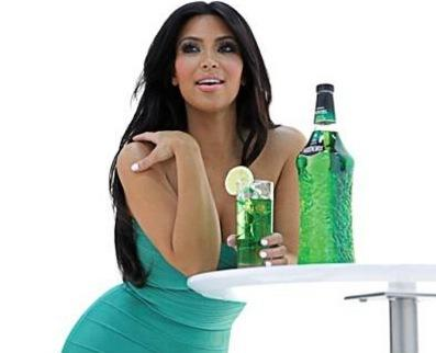 Kardashian in Green