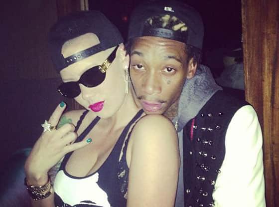 Wiz Khalifa and Amber Rose Instagram Pic