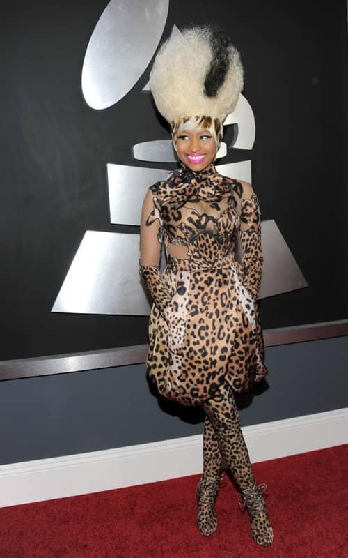 Nicki Minaj at the Grammys