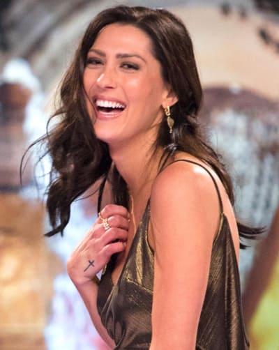 Becca Kufrin Laughs