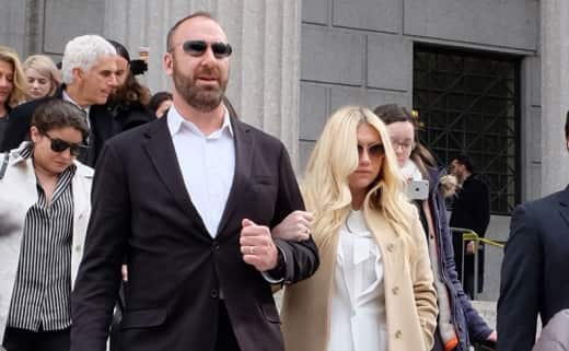 Kesha leaves courthouse after lawsuit ruling