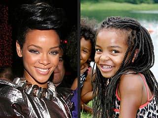 Rihanna and Jasmina