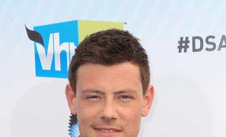 Cory Monteith  on the Red Carpet