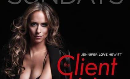 Jennifer Love Hewitt, Massive Cleavage Promote The Client List
