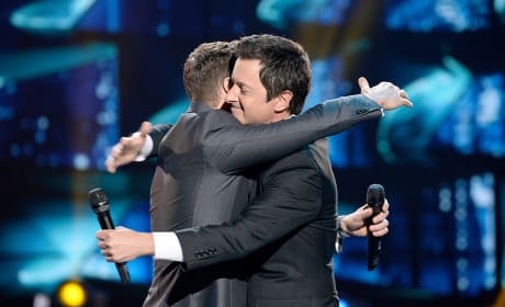 Brian Dunkleman and Ryan Seacrest