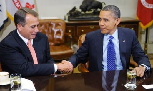 Obama and Boehner Image