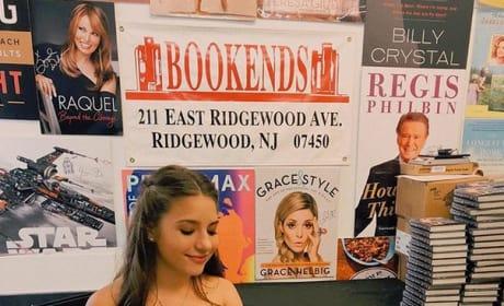Mackenzie Ziegler at Her Book Signing