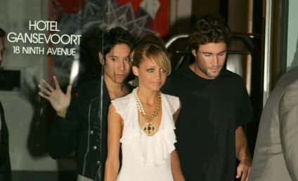 Brody Jenner & Nicole Richie Chillin'