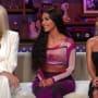 Khloe kardashian kim kardashian and kourtney kardashian on wwhl