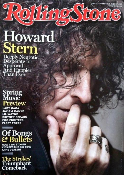 Howard Stern on Rolling Stone