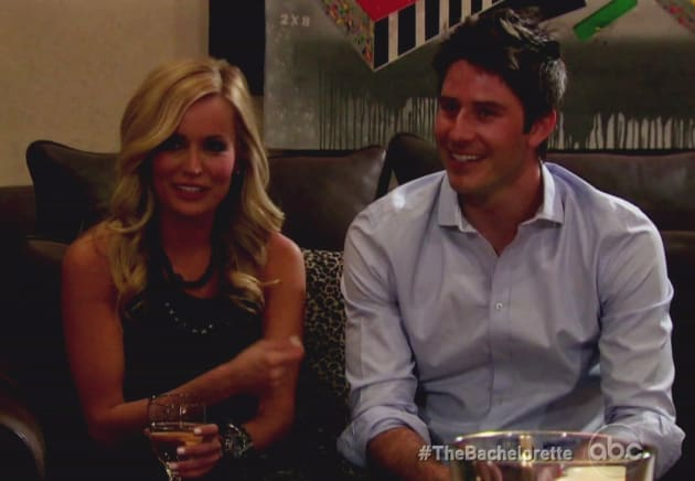 Arie dating bachelorette producer