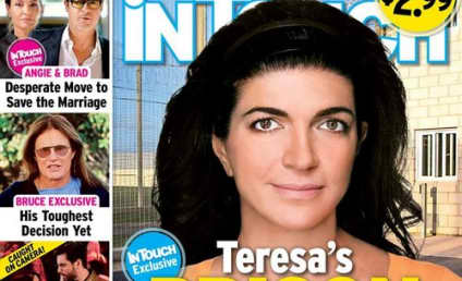"Teresa Giudice: Makeup-Free ""Prison Photo"" Covers Tabloid!"