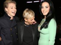 Ellen and Katy Perry