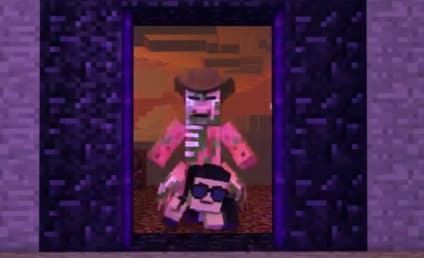 Minecraft Style: Like Gangnam Style, Only With Blocks
