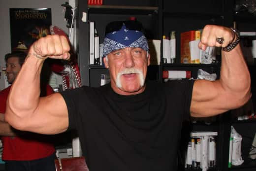 Hulk Hogan Muscle Flex