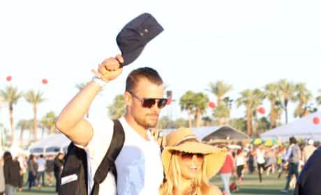Josh Duhamel and Fergie at Coachella