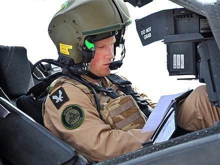 Prince Harry, Military Training
