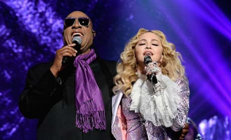 Madonna and Stevie Wonder Honor Prince at Billboard Music Awards