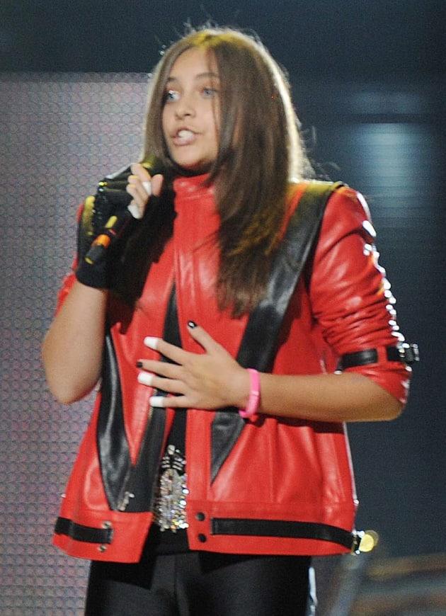 Paris Jackson at Tribute Concert