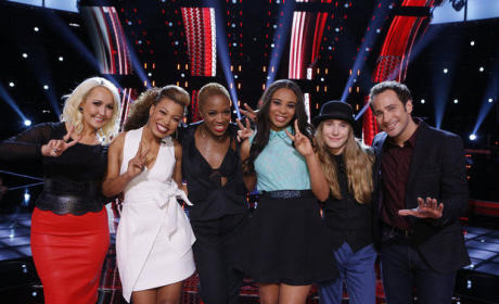 The Voice Top Six Pic