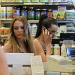 Lindsay and Ali Lohan Photo