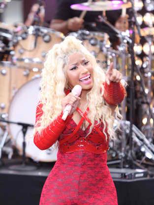 Nicki Minaj Performance Pic