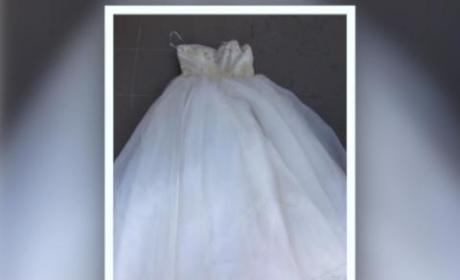 Scathing Ad Posted for Wedding Gown Worn by Cheating Ex-Wife