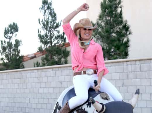 Tamra Barney Riding