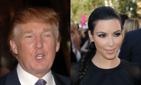 Kim Kardashian May Vote for Donald Trump