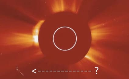 UFO Spotted Near the Sun By NASA ... or Totally Not
