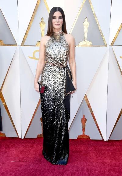 Sandra Bullock at 2018 Oscars