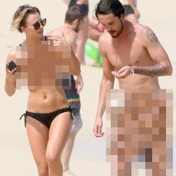 Kaley Cuoco Responds to Nude Photo Leak ... By Posting Nude Photo!