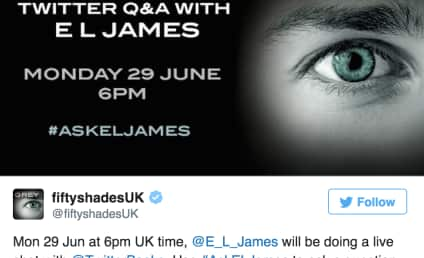 E.L. James Twitter Q&A Goes Horribly Awry