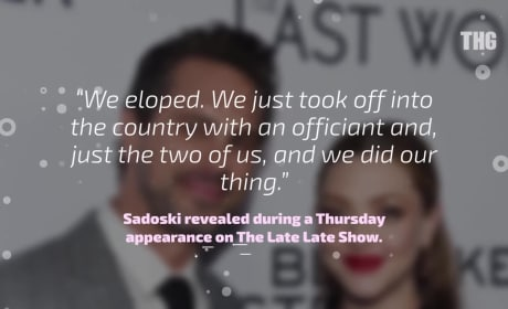 Amanda Seyfried and Thomas Sadoski are Married!