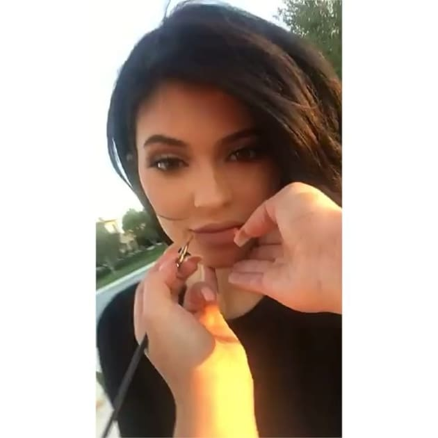 kylie jenner addresses tyga breakup in snapchat video