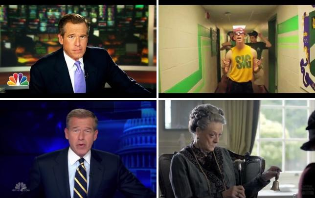 Brian williams lip dubs gin and juice