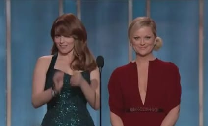 Tina Fey and Amy Poehler as Golden Globe Hosts: Grade 'Em!