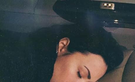 Demi Lovato and Puppy