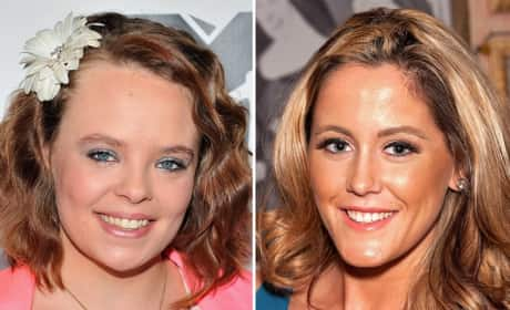 Catelynn Lowell and Jenelle Evans Photo