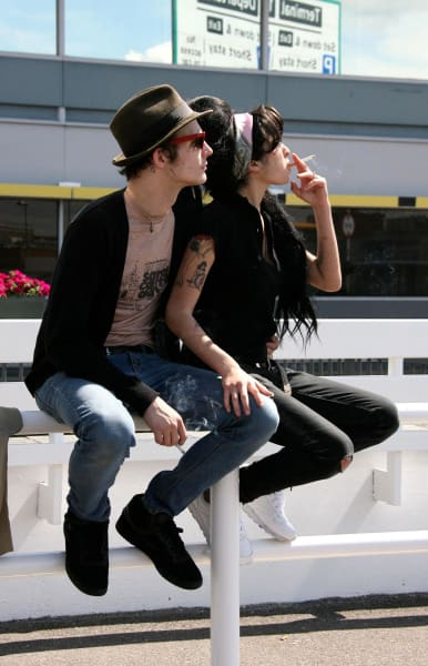 Blake Fielder Civil With Amy Winehouse