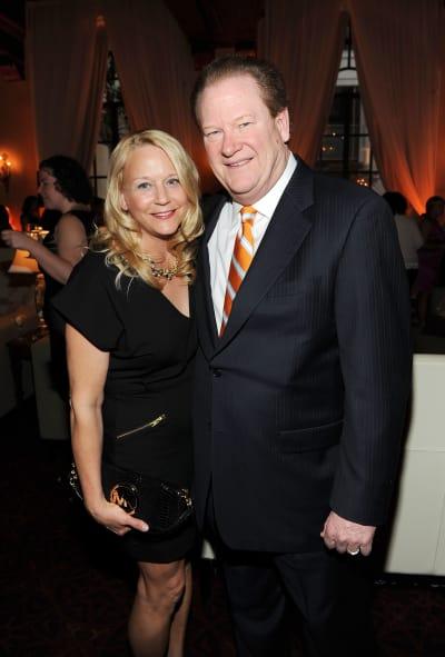 Ed Schultz and Wendy Schultz