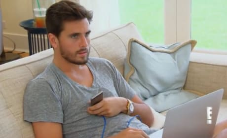 Scott Disick EXPLODES at Kourtney and Khloe!
