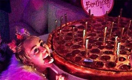 Miley Cyrus at 22