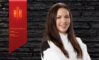 Christina Wilson Wins Hell's Kitchen!