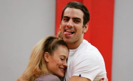 Nyle DiMarco and Peta Murgatroyd Rehearse