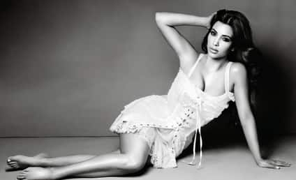 Kim Kardashian Resolves to Stay Fit, Keep Blogging