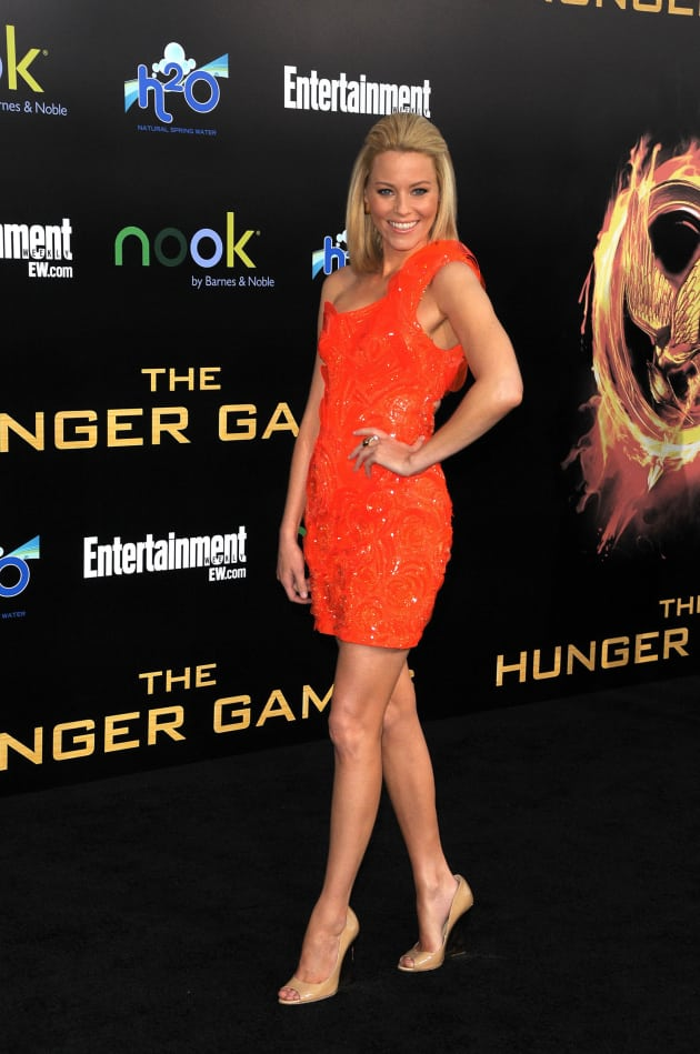 Elizabeth Banks at Hunger Games Premiere
