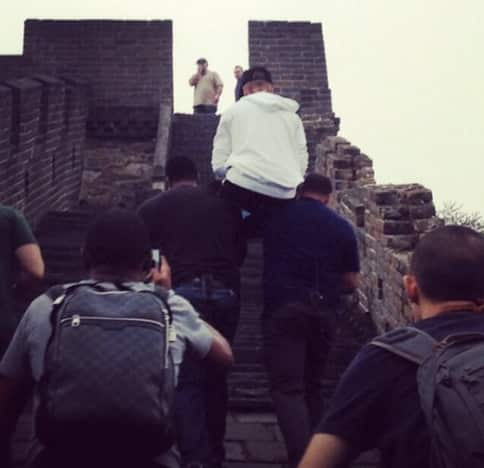 Carrying Bieber
