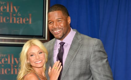 Kelly Ripa: Michael Strahan Farewell Can't Come Soon Enough!