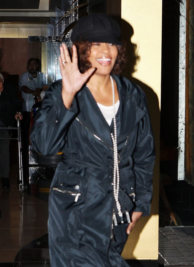 Hi, Whitney Houston!